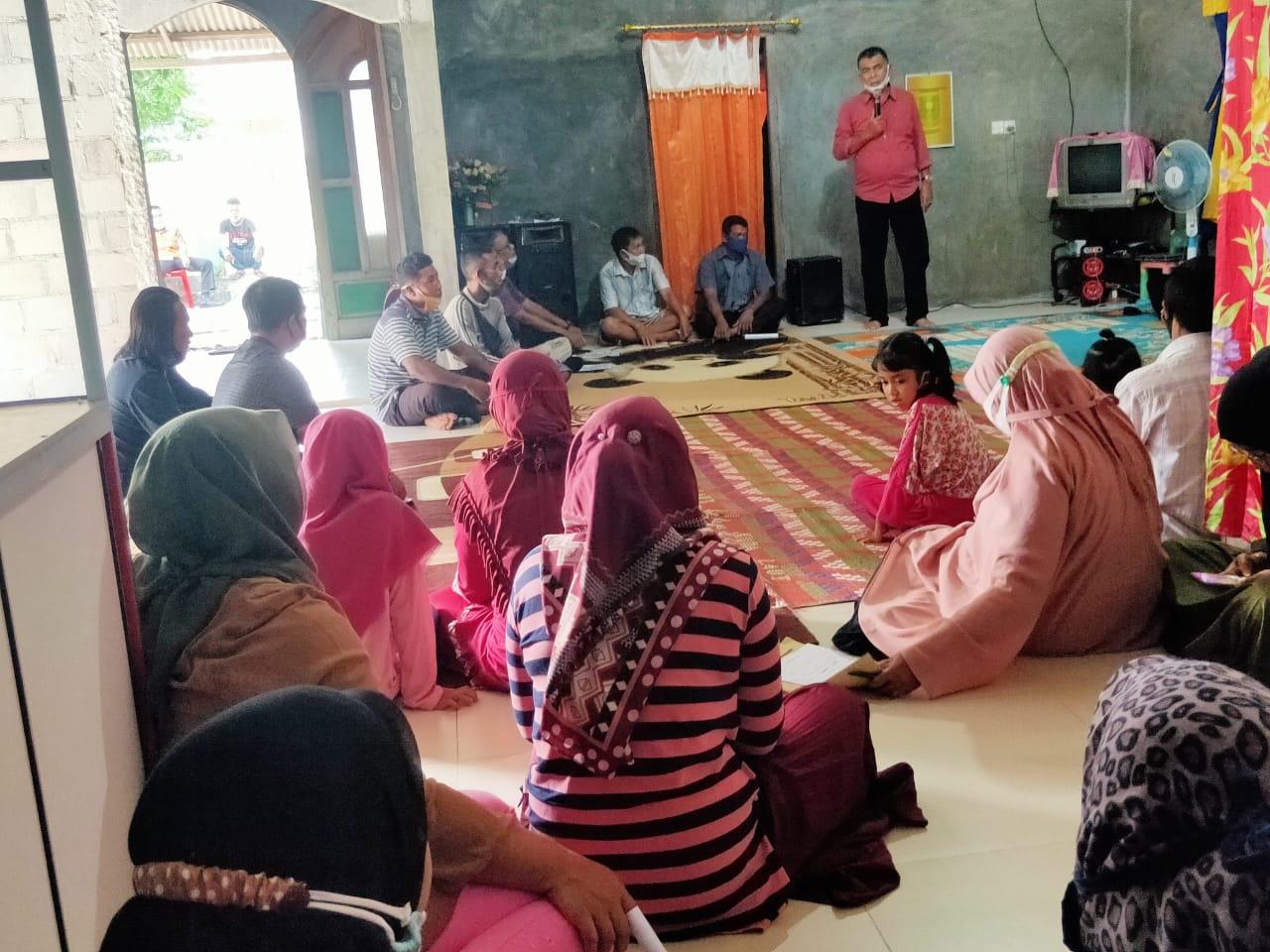 Gelar Kampanye di Desa Tanjung Ini Program Paslon Bupati dan Wakil Bupati Yang Disampaikan