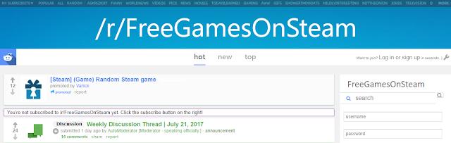 Kumpulan Tempat Untuk Mendapatkan Game Steam Gratis