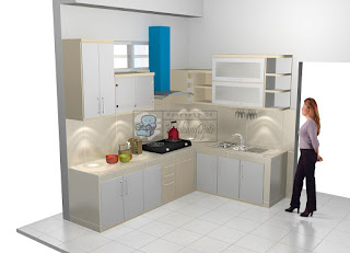 Desain Interior Kitchen Set 2019