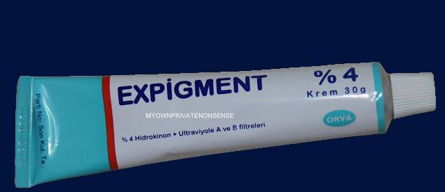 expigment leke kremi resim