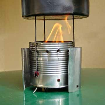 30 Awesome DIY Projects that You've Never Heard of - Wood-Burning Camp Stove