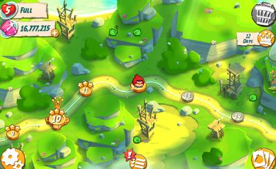 Angry Birds 2 Mod Apk 2.0.1 Mega Mod Terbaru 2015
