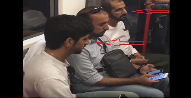 تصرف مفاجئ من الشيخ محمد بن راشد ونجله في لندن .. لم يصدق كل ما رآهما !!!