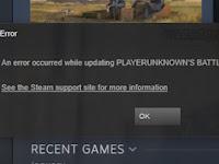 Tutorial Cara Memperbaiki Error Saat Install atau Update Steam Game