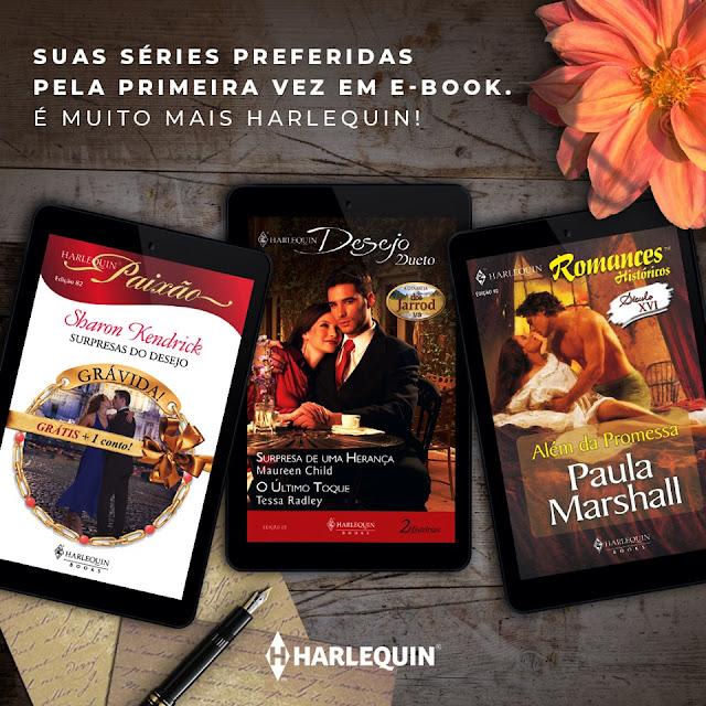 Romances de Banca: Harlequin Books fazendo a alegria das leitoras!