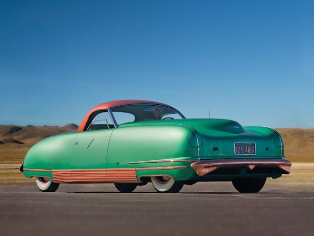 Chrysler Thunderbolt 1940s American classic concept car