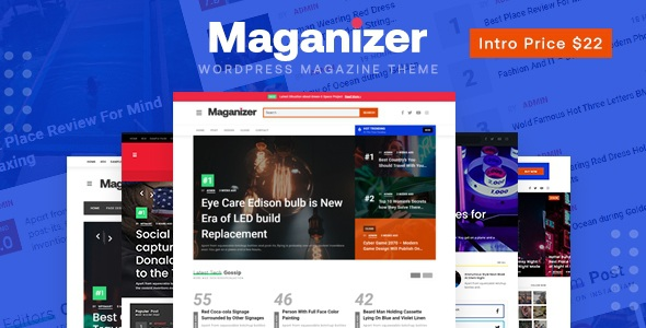 Best Modern Magazine WordPress Theme