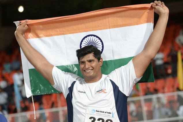 Vikas Gowda won Gold Medal at Asian Athletics Championship