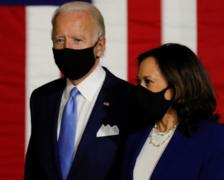 Trump amplifies a conspiracy theory about  Harris, Biden campaign team says