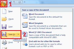 Cara Membuat Password (Mengunci) Dokumen di Microsoft Word