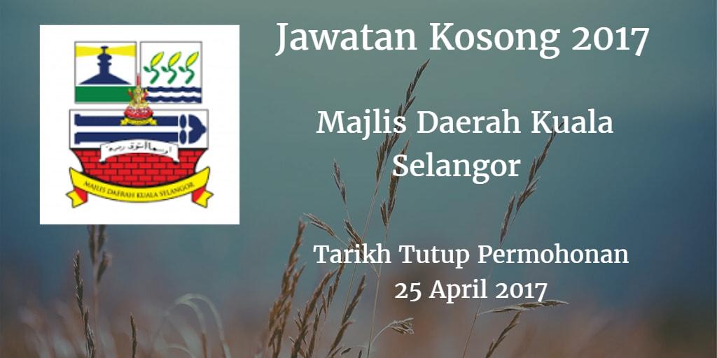 Jawatan Kosong MDKS 25 April 2017