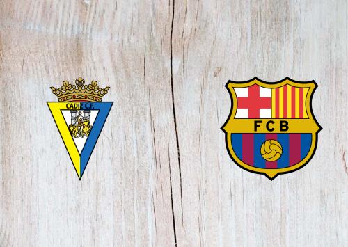 Cádiz vs Barcelona -Highlights 05 December 2020