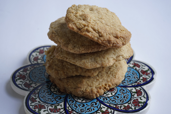 Dad's Cookies loaded with oatmeal and coconut