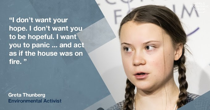 Inspiring videos by Greta Thunberg