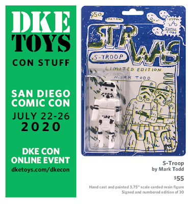 San Diego Comic-Con 2020 Exclusive S-Troop Star Wars Resin Figure by Mark Todd x DKE Toys