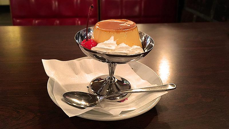 昭和24年創業の名古屋で長年愛され続ける純喫茶ボンボンの懐かし固めプリン