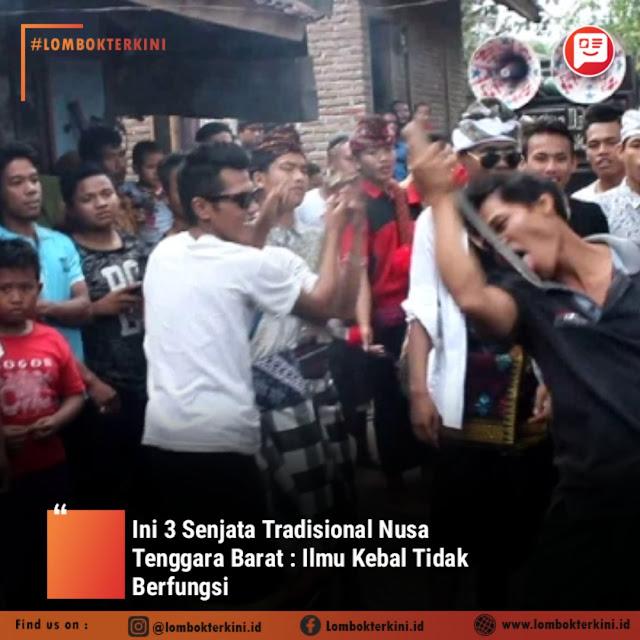 Senjata Tradisional Nusa tenggara Barat
