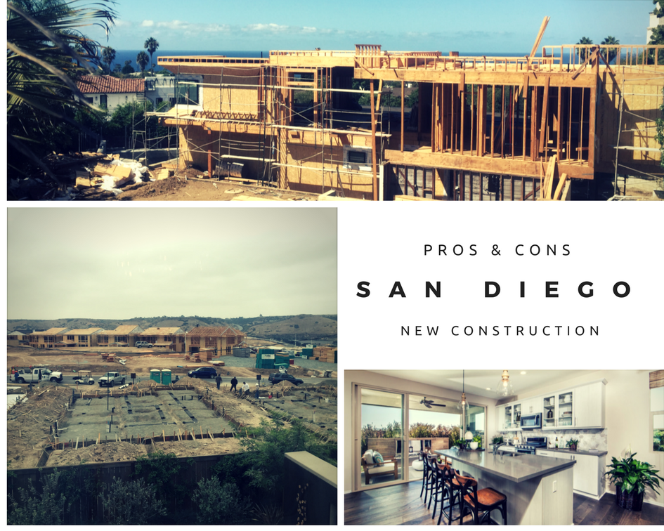 Pros & Cons of Purchasing New Construction in San Diego