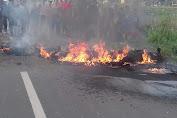Dua Korban Tabrakan Maut di Kecamatan Ciampel Tubuhnya Terbakar Hangus,Ini Penyebabnya
