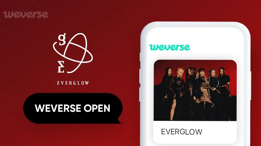 Besides iKON, EVERGLOW is Also Confirmed to Join Weverse!