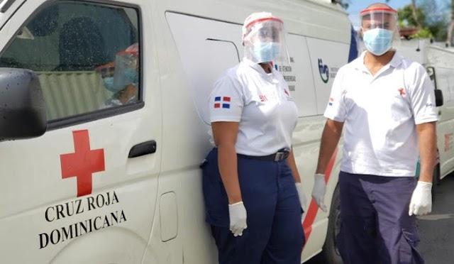 Cruz Roja Dominicana pide a los jóvenes que le bajen al teteo y se vacunen