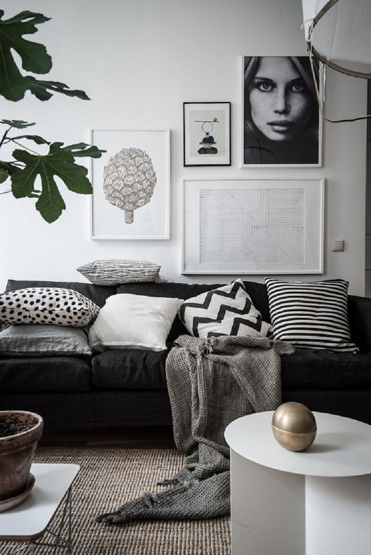Decora o estilo escandinavo gisiele pimel for Monochrome design ideas