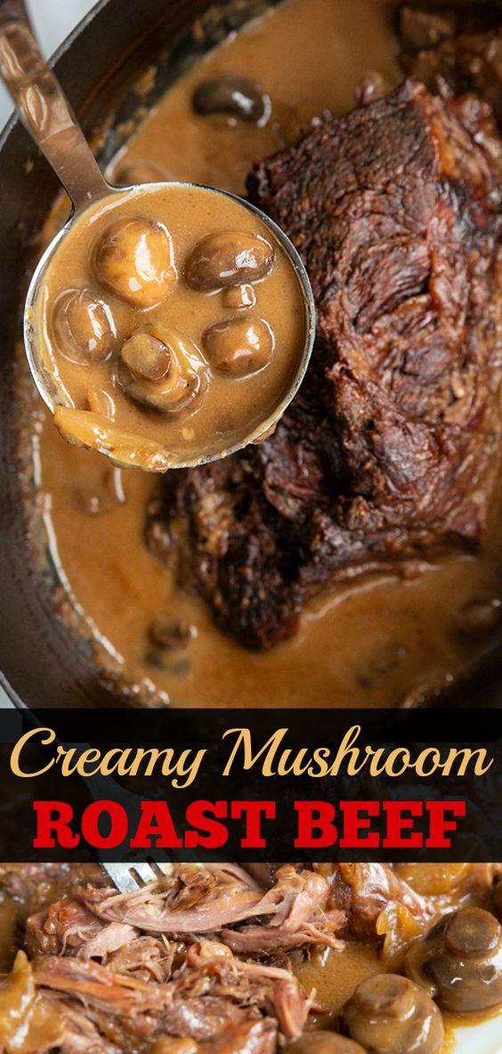 Best Creamy Mushroom Beef Chuck Roast Recipes