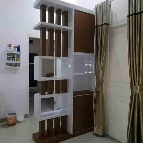 Sekat Ruangan Minimalis Rumah type 36