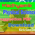 WBBSE Physical Science Suggestion 2021 | Madhaymik 2021 Physical Science Suggestion pdf Download