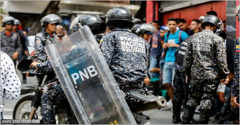 MALANDROS UNIFORMADOS | PNB dispersó a tiros a una cola para la gasolina en La Candelaria