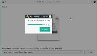 Membuat Bootable Menggunakan Suse Studio Image Writer