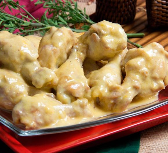 Perniles De Pollo Con Salsa De Miel