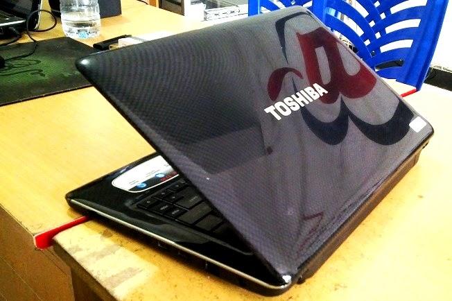 laptop tipis toshiba t135 malang