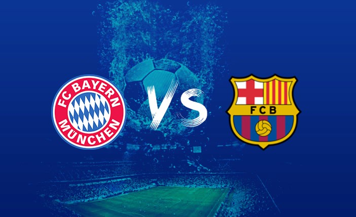 مشاهدة مباراة برشلونة وبايرن ميونخ اليوم 14/9/2021 في دوري ابطال أوروبا