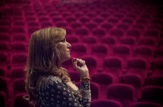 הזמרת היווניה קטי גרבי בישראל - מרץ 2017