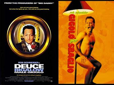 La locandina del film Deuce Bigalow - Male gigolo / Gigolo per sbaglio