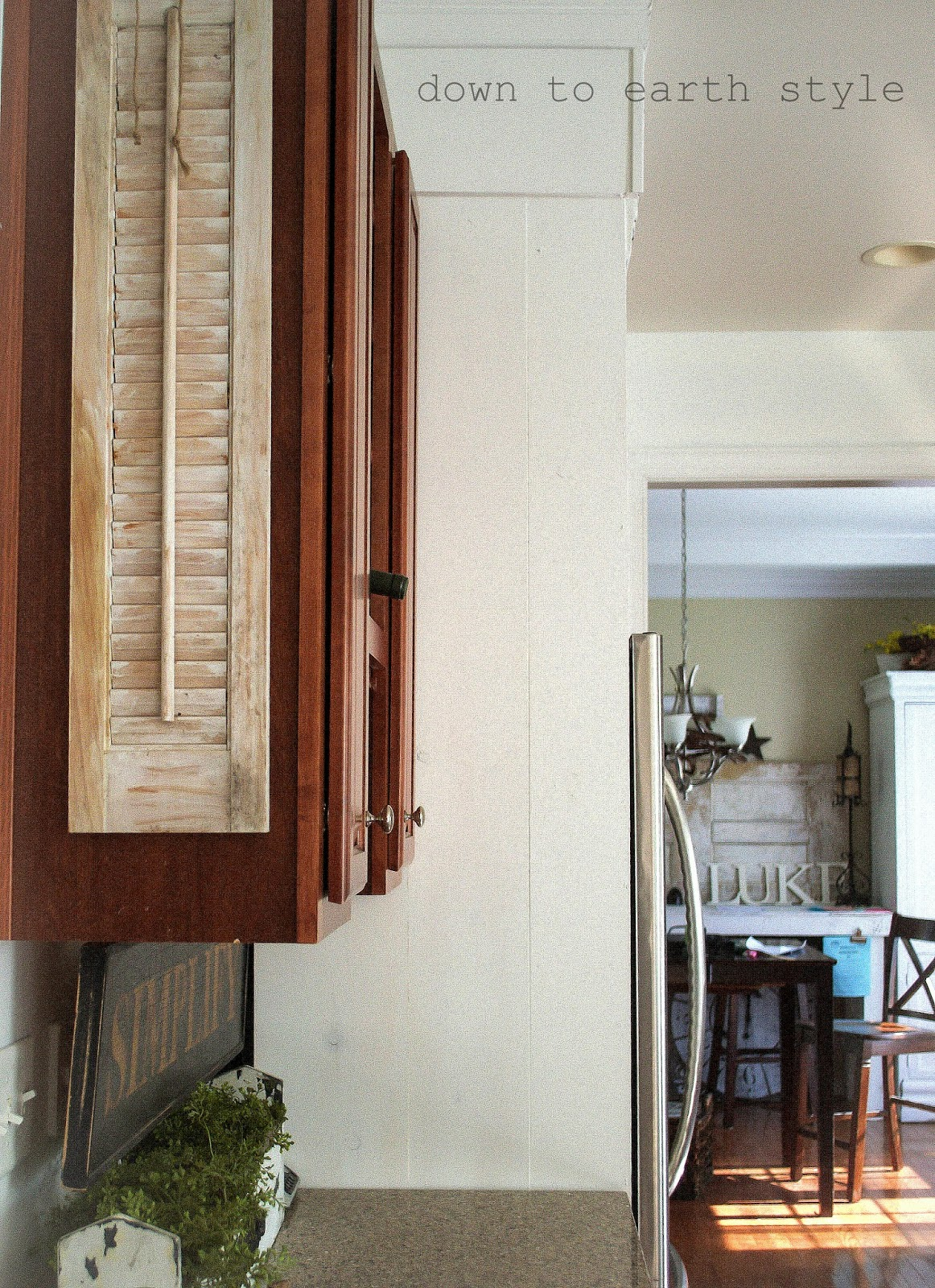 how to cut down the depth of a cabinet