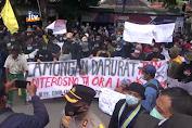 Ratusan Warga Terdampak Banjir Demo Pemkab Dan DPRD Lamongan