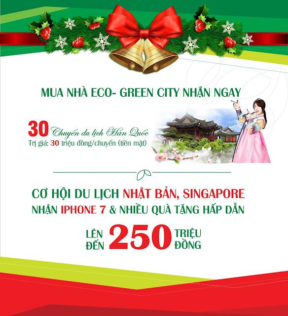 Chính sách bán hàng đợt cuối căn hộ Eco Green City