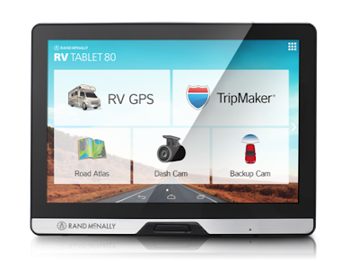 Rand McNally innovates RV Travel with new dashboard device