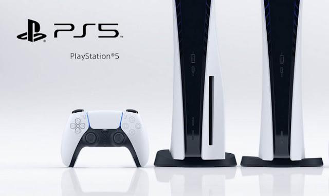 Приставка Sony Playstation 5 как выглядит