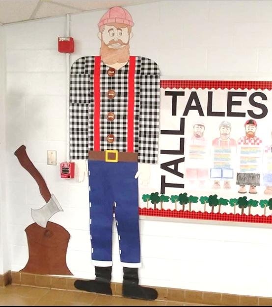 Buffalo Plaid Classroom Bulletin board