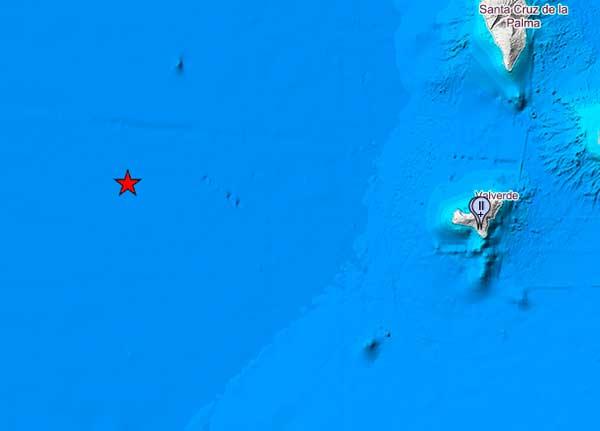 Sentido en El Hierro el terremoto de 5.7 grados de Canarias