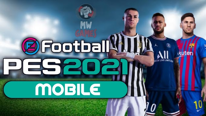 PES MOBILE 2021 PATCH 5.5.0 TEMA DO MESSI