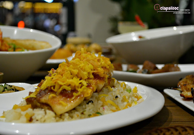 Twice Cooked Pork Belly with Salted Egg Fried Rice from Toast Ayala Malls the 30th