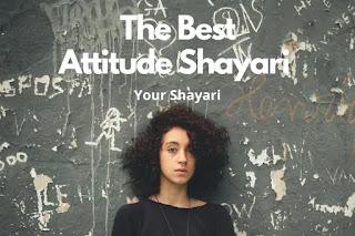 Best Attitude Shayari