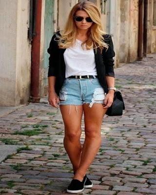 Outfits con SHORTS tumblr que te haran ver irreverente