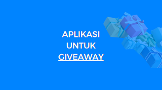 aplikasi random undi giveaway instagram gratis, facebook, twitter, youtube, picker