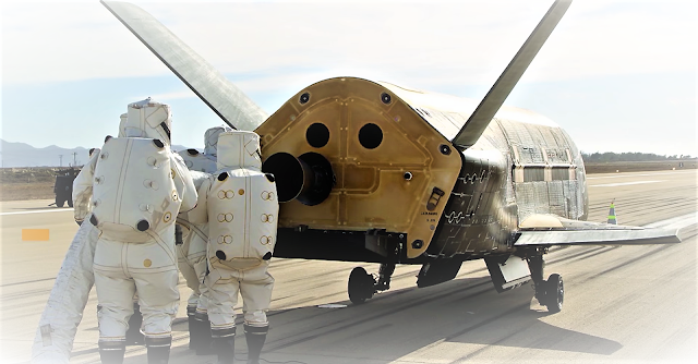 The U.S. X-37B Robotic Space Plane Returned From a Secret Mission   SPACE NEWS