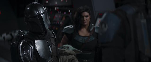 The Mandalroina Baby Yoda and Cara Dune Season 2 Finale Disney Plus